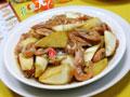 茭白炒籽虾的做法