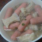 羊肉煮海鲜丸子