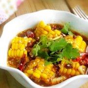 麻辣水煮玉米的做法