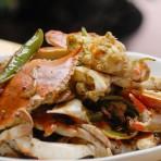 青椒炒蟹的做法