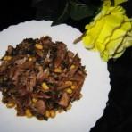 笋干黄豆肉片