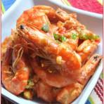干爆腐乳虾的做法