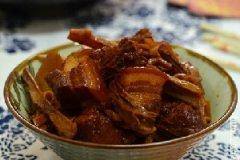 干笋红烧肉的家常做法