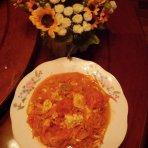 西红柿胡萝卜炒鸡蛋