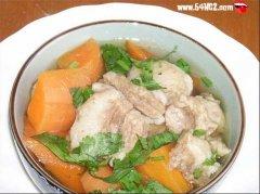 胡萝卜炖羊肉的家常做法大全