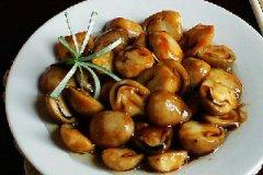 蚝油草菇的家常做法