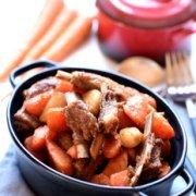 红烧羊排胡萝卜的做法