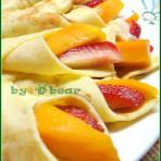 水果薄饼的做法