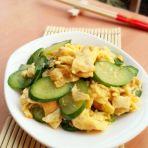小青瓜炒蛋