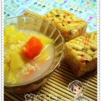 苹果萝卜燕麦粥的做法