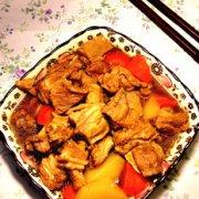 胡萝卜红焖羊排的做法