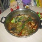 香辣羊肉小火锅