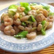 脆嫩鲜辣虾仁的做法