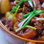耙齿萝卜牛腩煲的做法