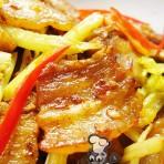 芹菜回锅肉的做法