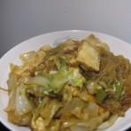 白菜海鲜豆腐煲