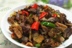 萝卜干炒牛肉干的家常做法