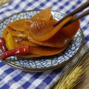 红糖酱萝卜的做法