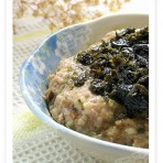 橄榄菜蒸肉饼的做法