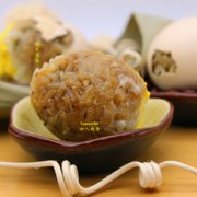 糯米蒸蛋的做法