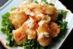奇味白汁虾的家常做法