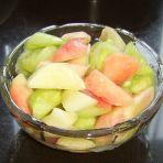 黄瓜拌桃子