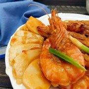 甜辣油焖虾的做法