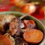 支竹胡萝卜焖羊肉的做法