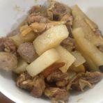 牛腩白萝卜煲的做法