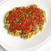 肉酱烩茄丝的做法