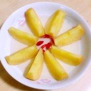 美味蒸苹果的做法