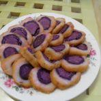 肉松紫薯大福