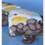 蘑菇芸豆烘蛋