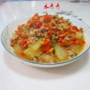 肉末煎冬瓜的做法