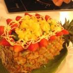 滋味菠萝盏的做法