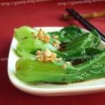 蚝油豉汁油菜的做法