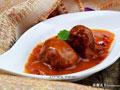 番茄烧汁肉丸子的做法