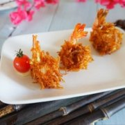 金丝沙拉虾的做法
