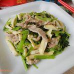 肉丝茶干炒芹菜的做法