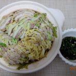白菜五花肉土锅的做法