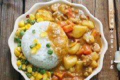 咖喱鸡肉饭的家常做法