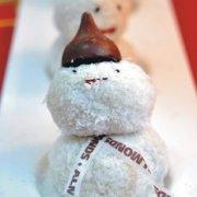 #圣诞节#小雪人汤圆的做法