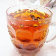 枸杞菊花茶的做法
