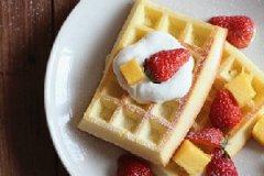 草莓华夫饼的家常做法