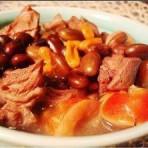 黑豆炖羊肉