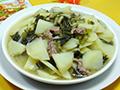 鸡胗雪菜炒土豆的做法