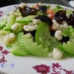 黄瓜木耳炒虾仁