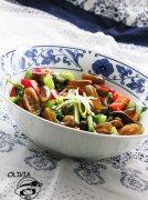 凉拌什锦海茸条