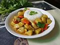 杂蔬咖喱饭的做法