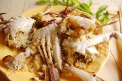 烤奶油螃蟹的做法视频
